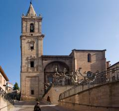 The Parish Church of Asuncion, Navarrete (La Rioja)
