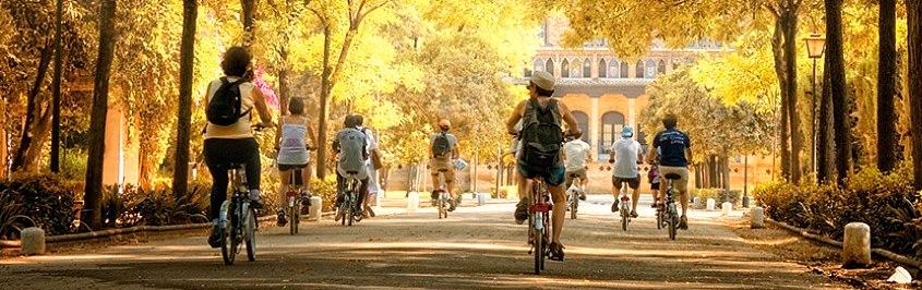 Pamplona en bicicleta